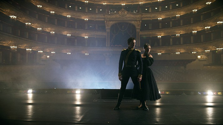 """Moscow's Bolshoi Ballet dances """"A Hero of Our Time"""", via satellite, Wednesday, April 19, at  6 p.m. at Yavapai College Performing Arts Center."""