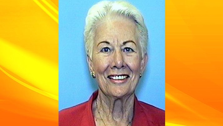 Geraldine Bradford, 84, of Chino Valley is missing. She has moderate dementia and was last seen at around noon Friday, April 14.