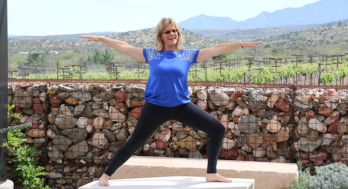 YC Yoga Instructor Roxanne Wessel