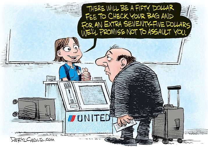 Editorial Cartoon A: April 17, 2017