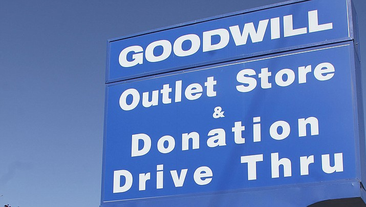 The Goodwill store in Kingman, located 2369 Airway Ave.
