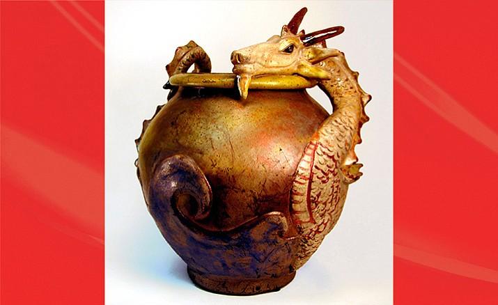 Suzy Allan Water: Dragon Pottery