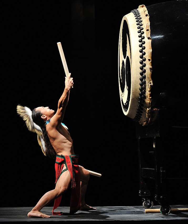 Ken Koshio is a world class Japanese Taiko drummer. Taiko is a Japanese style of percussion, which combines music, movement and spirit.