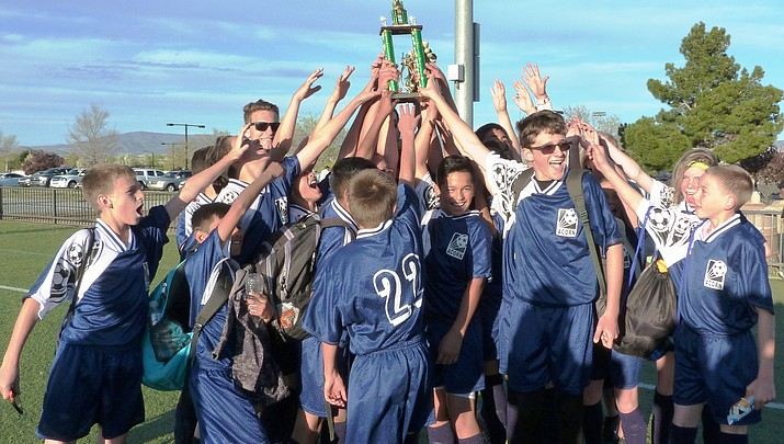 Acorn Montessori soccer team finishes undefeated