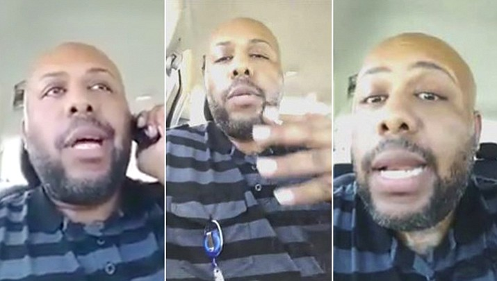 In a nationwide search, Cleveland police are looking for Steve Stephens, a homicide suspect, who recorded himself shooting another man and then posed the video on Facebook on Sunday, April 16, 2017.