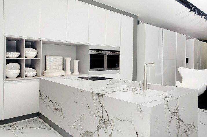 Dekton offers homeowners a chance for some unique designs, while giving them a surface that is durable and easy to clean.