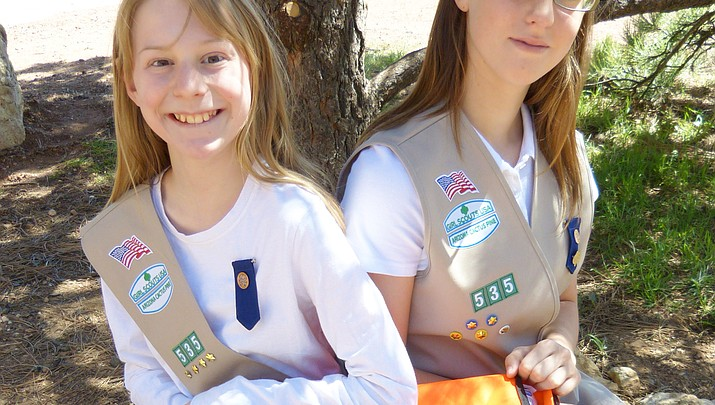 Grand Canyon Girl Scouts recognized for community service