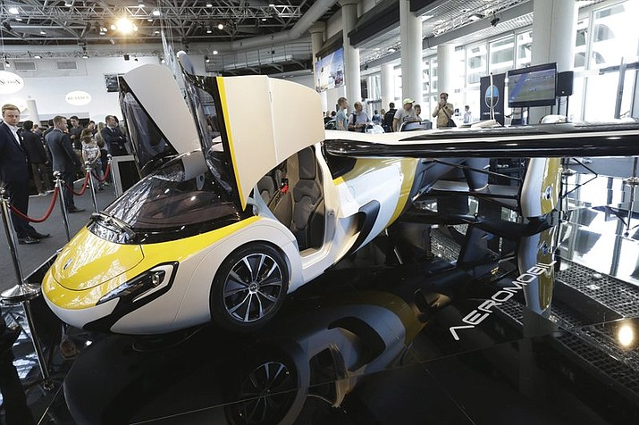 Flying Car With Foldable Wings To Go On Sale The Daily Courier - Car show displays for sale