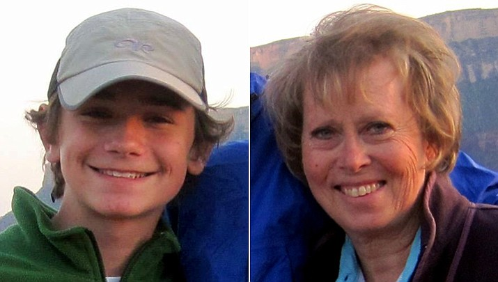 The search for 14-year-old Jackson Standefer and his stepgrandmother, 62-year-old LouAnn Merrell, is being called back, according to officials at the National Park Service. The hikers have been missing since late Saturday when they lost their footing while crossing a stream in a remote area of the Grand Canyon.