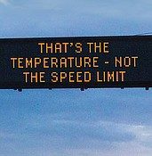 ADOT picks 2 winners – funny, serious – in freeway safety message contest photo