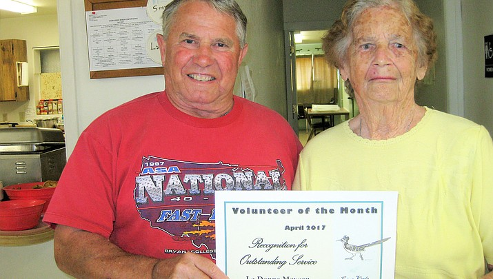 April Volunteer of the Month