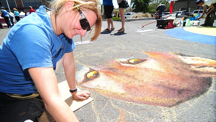 Chalk it Up! event continues today