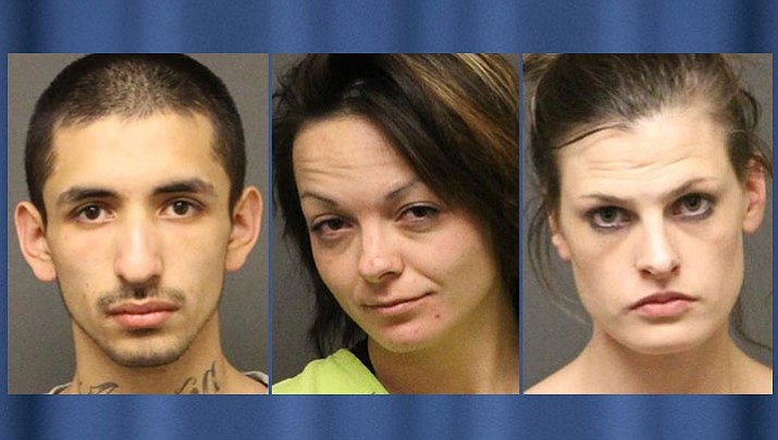 Left to right: Fabian Braulio Acuna, Jaimie Leigh Nalley, Shaelee Marie Matthews