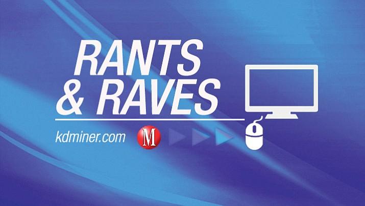 Rants & Raves | Sept. 23, 2018