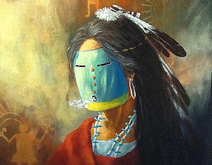 return to beauty way navajo artist david k john interprets female