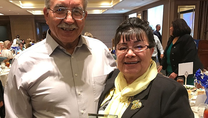 Padillas honored for work with folklorico youth dance