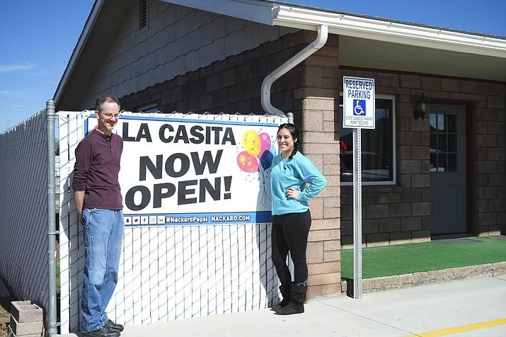 La Casita Mexican restaurant opened March 17.
