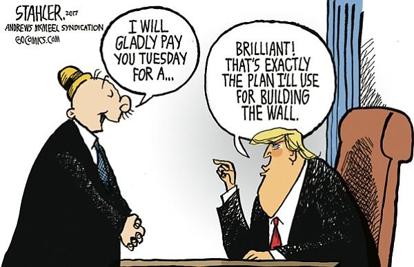 Editorial Cartoon: April 26, 2017