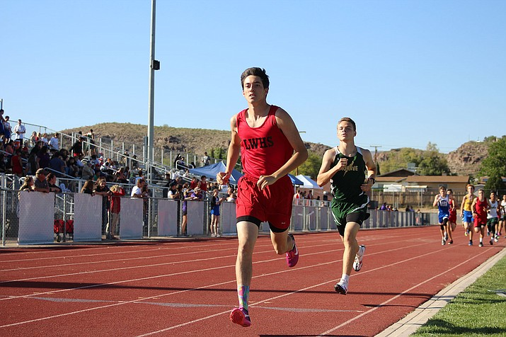 Lee Williams' Zach Moyd tallied four first-place finishes Saturday at the Knights of Columbus meet in Phoenix.