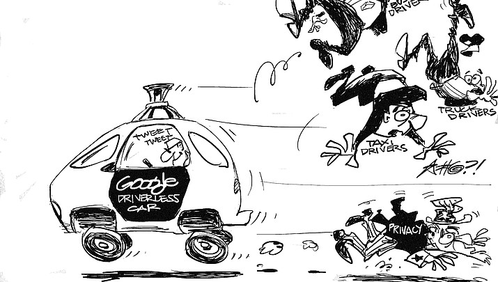 Editorial Cartoon: April 27, 2017