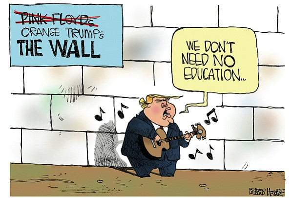 Editorial Cartoon: April 28, 2017