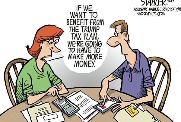 Editorial Cartoon: April 30, 2017
