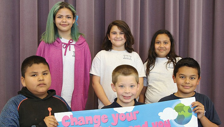The Desert Willow Elementary School's Larson Life Skills winners won this month for Citizenship.