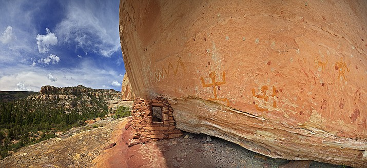 One of many cultural sites protected at the recently designated Bears Ears National Monument. Photo/Tim Peterson