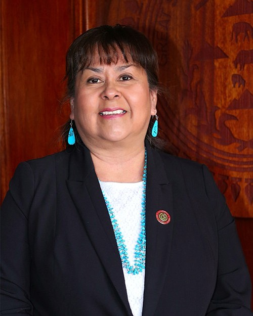 Paulene Thomas confirmed to new position in 14-1 vote by Navajo Council. Submitted photo