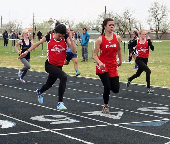 The Phantoms relay teams yet to learn if they have been accepted to state track meet in Mesa.