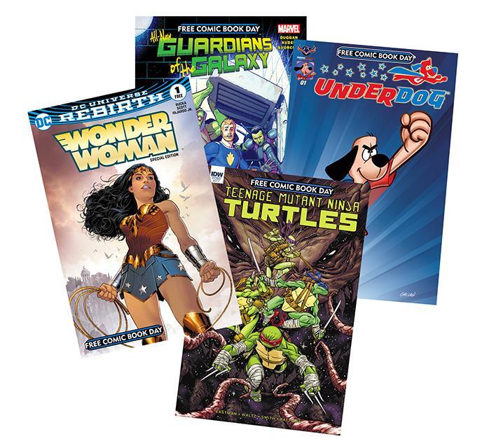 Free Comic Book Day España: Free Comic Book Day Saturday