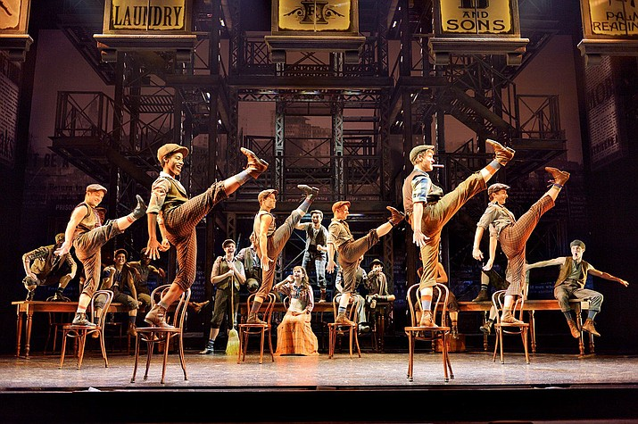 """""""Newsies"""" will be screened at Sedona's Mary D. Fisher Theatre Sunday, May 14, at 4 and 7 p.m."""