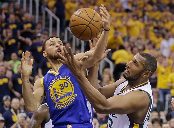 NBA Playoffs: Warriors 102, Jazz 91 Durant scores 38 to ...