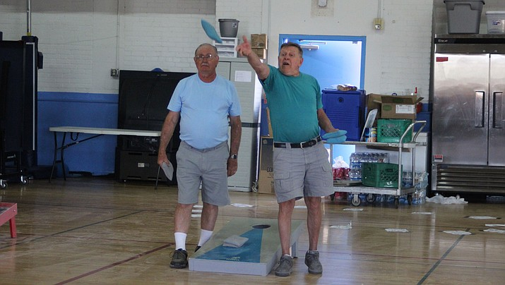 The Kingman Boys and Girls Club Spring Festival included a Cornhole Tournament Saturday.