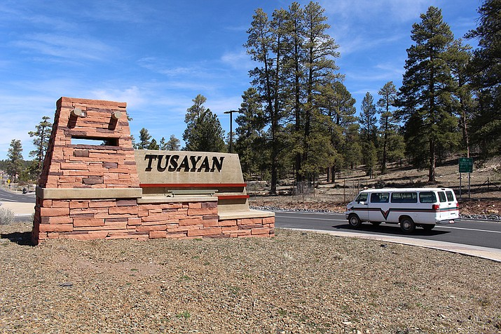 The National Park Service said visitors to parks in Arizona last year spent $995 million at nearby businesses, like those in the town of Tusayan, the gateway to the Grand Canyon.