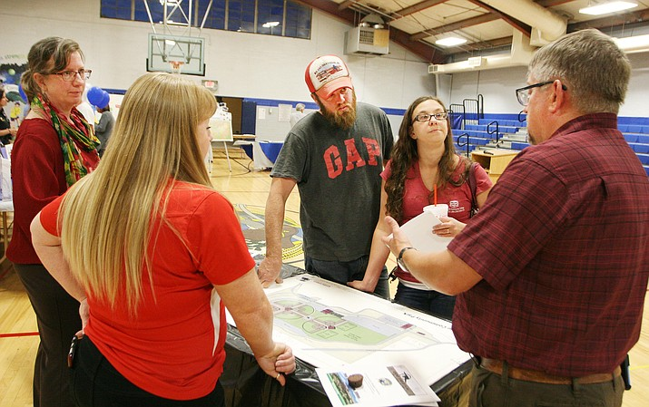 Though most in attendance were either employed by the Town of Camp Verde or on its council, Camp Verde Finance Director Mike Showers presented the fiscal year 2017-2018 proposed, tentative budget Monday in the Community Center gymnasium.
