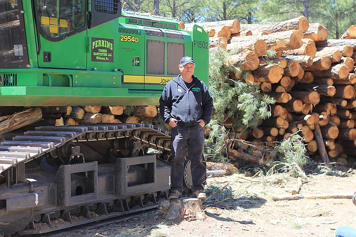 James Perkins and his family have spent 51 years logging forests in northern Arizona.