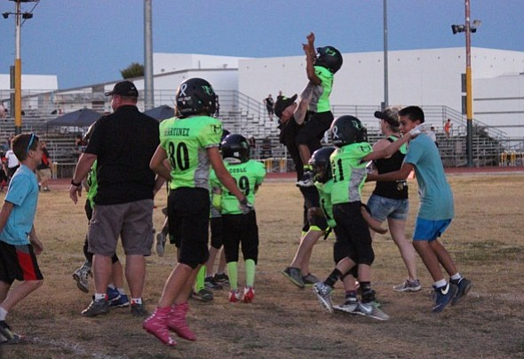 Youth Football: PV Hitmen win in National Youth Sports semis, fall in title game