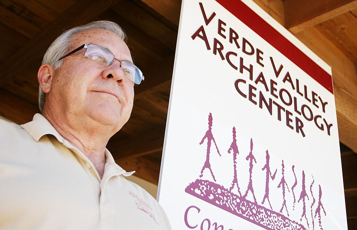 Verde Valley Archaeology Center Executive Director Ken Zoll has received his second Verde Champions Tourism Award. (Photo by Bill Helm)