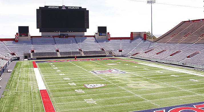 Arizona Stadium is one of 20 facilities that the university is attempting to renovate with help from a newly passed student fee. (Logan Newman/Cronkite News).