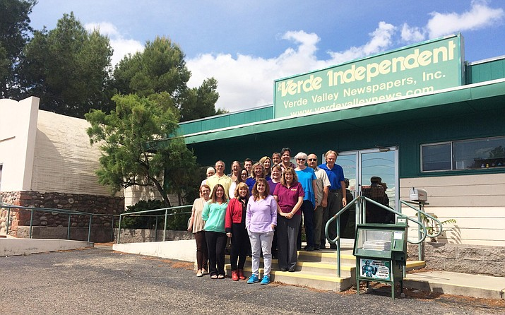 Verde Valley Newspapers was named the 2017 Business of the Year. Both the Verde Independent and the Camp Verde Bugle are dedicated to the lives, events, issues and past-times of the people of the Verde Valley and strives towards an excellence in journalism. (Photo by Vyto Starinskas)