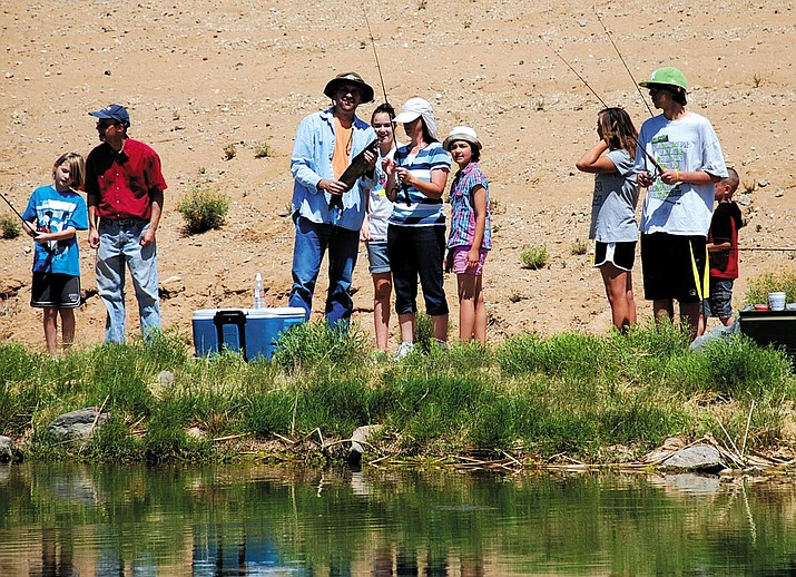 The annual Kids Fishing Day is scheduled for May 27 at D'Ambro Ponds.