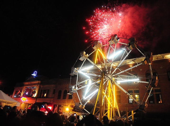 Fireworks on New Year's Eve is one tradition that draws tourists to Prescott. Officials say tourism is up 6 percent this year.