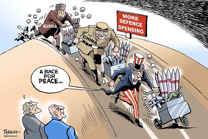 Editorial Cartoon A: May 15, 2017