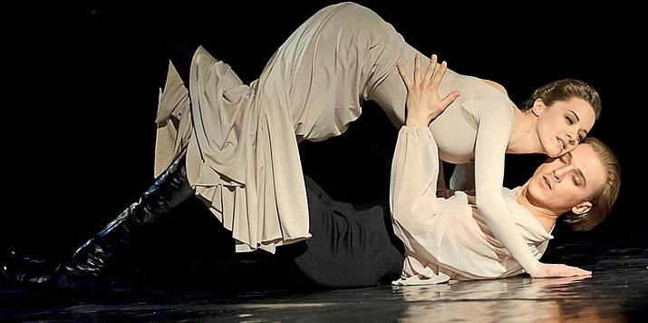 "Directed and choreographed by Angelica Cholina, this internationally award-winning Vakhtangov Theatre production of ""Anna Karenina"" is a choreographed modern dance interpretation of Leo Tolstoy's classic novel."