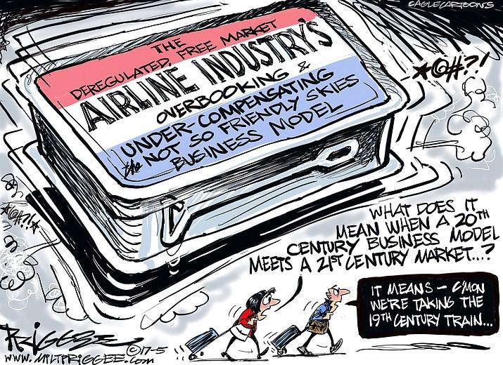 Editorial Cartoon A: May 16, 2017