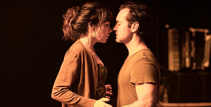 """Jude Law stars in the stage production of """"Obsession"""""""
