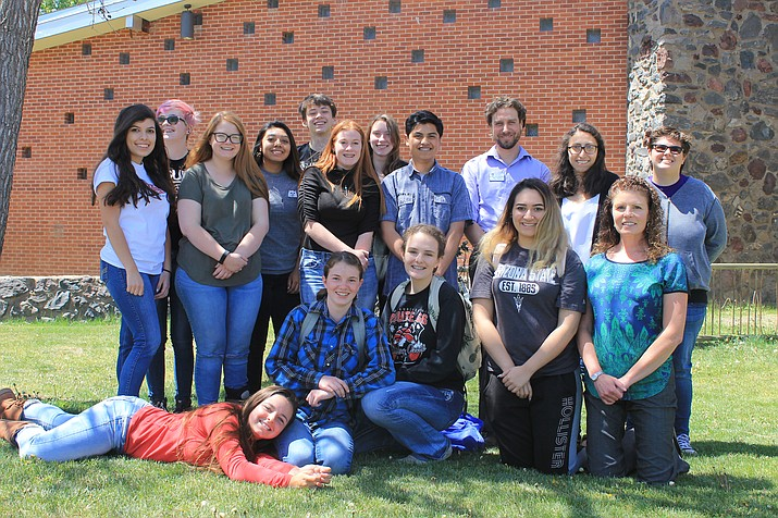 Upward Bound students at Williams High School include: Tony Cavaletto, Carissa Foley, Bridgette Hernandez, Riley Hollis, Alaina Karlsberger, Samatha Russell, Meghan Johnson, Nancy Leon, alyssa McMahon, Salvador Moreno, Courtney Echave, Veronica Hernandez, Madison Jenks, Roberto Davila, Alessandra Rico and Alexis Santana.
