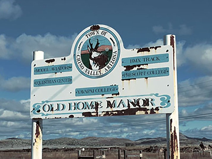 The Chino Valley Town Council is beginning work on an industrial park at Old Home Manor. (Ken Sain/Review)