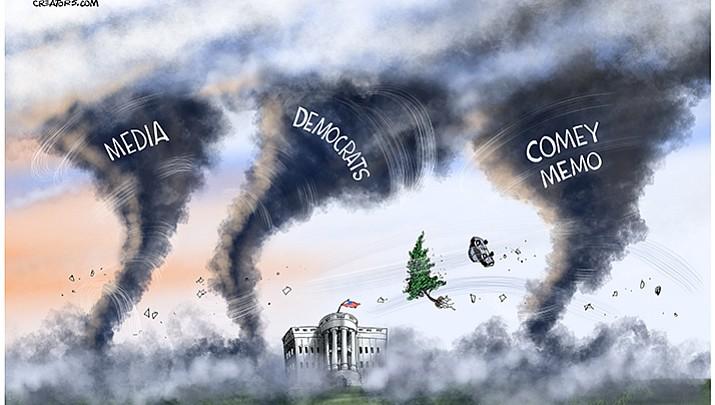 Editorial cartoon: May 24, 2017